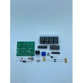 Kit ceas electronic, AT89C2051, display unic