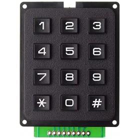 Tastatura numerica 4x3, 12 butoane