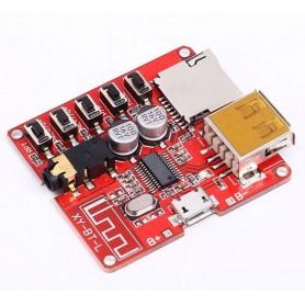 Modul receiver audio Bluetooth 4.1, Interfata MicroSD, TF, Card, USB, 3.7 - 5V