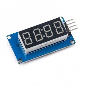 Modul display LED cu interfata seriala TM1637
