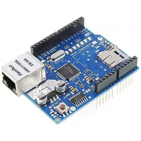 Shield Ethernet W5100 cu MicroSD
