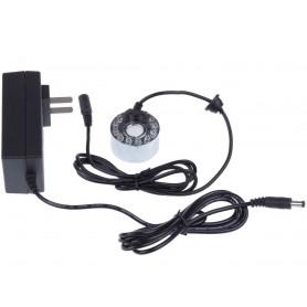Kit atomizor ceata, ultrasunete, cu LED, 24V
