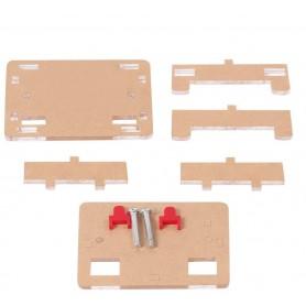 Carcasa acrilic pentru coborator tensiune cu LCD