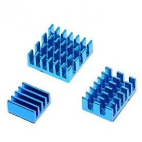 Set radiatoare pentru Raspberry Pi4, aluminiu, autoadezive