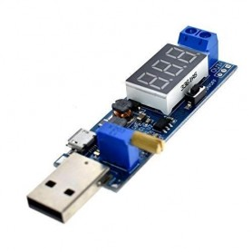 Modul ridicator-coborator tensiune, USB, 1.2-24V, Display