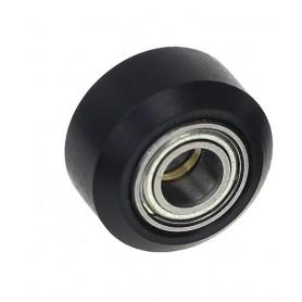 Rola V-Slot, POM, tip C, 5x15x8.8mm, MR105ZZ