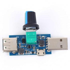 Modul control turatie, coborator, ridicator, 2.5-8V, 5W, USB