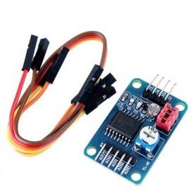 Modul convertor AD/DA, fotorezistor, termistor, PCF8591, I2C