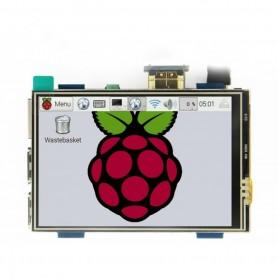 """Display cu HDMI 3.5"""", Touchscreen, pentru Raspberry"""