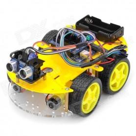 Kit Smart Car 4WD, Bluetooth, IR, Ultrasunete