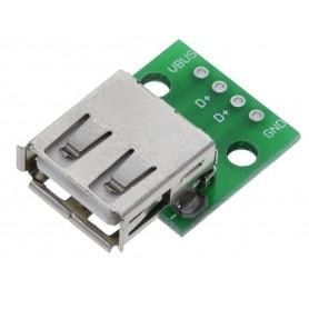 Modul adaptor USB 2.0, Mama