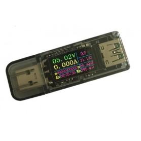 Multi Tester USB, 3.7V-30V 5A, Display color IPS