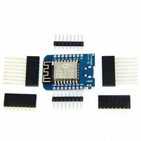 Placa dezvoltare compatibila WeMos D1 Mini, ESP8266, ESP-12F