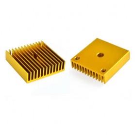 Radiator stepper ,4040, MK7/MK8, auriu