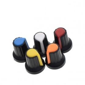 Capac, knob potentiometru 6mm, 15x17