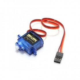 Servomotor SG90, limit switch